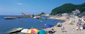 越前海岸・鮎川海水浴場