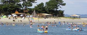 日間賀島東浜海水浴場