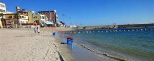 日間賀島西浜海水浴場