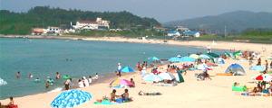 丹後半島・八丁浜(浅茂川)海水浴場