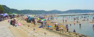 淡路島・多賀の浜海水浴場