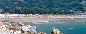西広海岸海水浴場