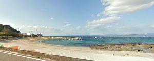 白浜町・江津良海水浴場
