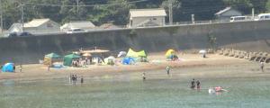 白浜町・椿海水浴場