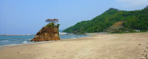出雲・稲佐の浜海水浴場