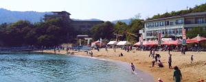 仙酔島・鞆の浦海水浴場