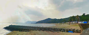 横山海岸海水浴場