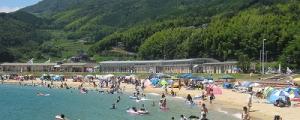 岩国・潮風公園海水浴場