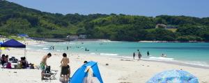 下関市・土井ヶ浜海水浴場