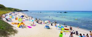 角島コバルトブルービーチ