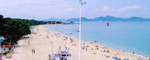 今治・唐子浜海水浴場