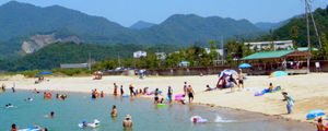 大三島・台海水浴場
