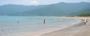 興津小室の浜海水浴場