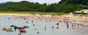 唐津 相賀の浜海水浴場