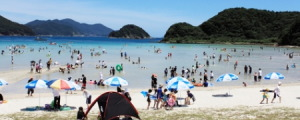新上五島 蛤浜海水浴場