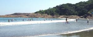 日向市 お倉ヶ浜海水浴場
