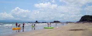 高須・浜田海水浴場(鹿屋海浜公園)