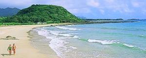 徳之島 花徳里久浜海水浴場