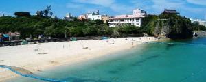 那覇市 波の上ビーチ
