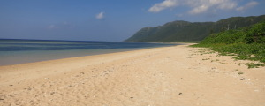 西表島 南風見田の浜
