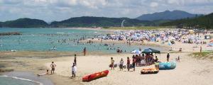 石見海浜公園 姉ヶ浜海水浴場