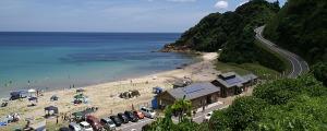 二位ノ浜海水浴場