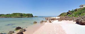 西表島 星砂の浜ビーチ