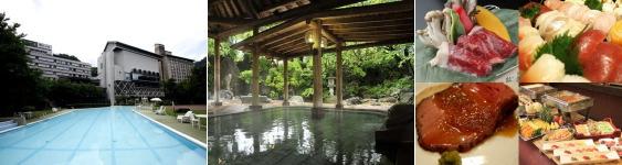 源泉湯の宿松乃井(プール)