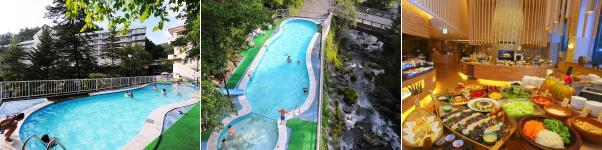蓼科グランドホテル滝の湯(プール)