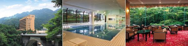 宇奈月国際ホテル(プール)