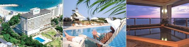 リゾートホテル ラフォーレ南紀白浜(プール)