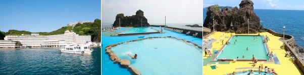 ホテル浦島(プール)
