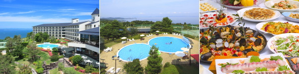 リゾートホテルオリビアン小豆島(プール)