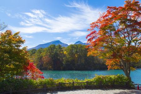 紅葉の五色沼