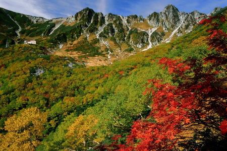 紅葉の千畳敷カール