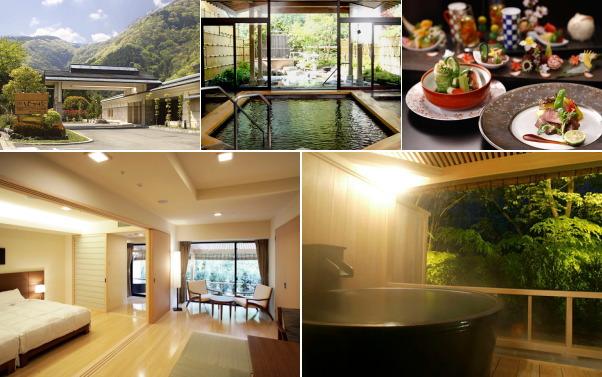 箱根湯本温泉 ホテルはつはな(露天風呂付き客室)