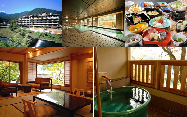 箱根湯本温泉 ホテル河鹿荘(露天風呂付き客室)