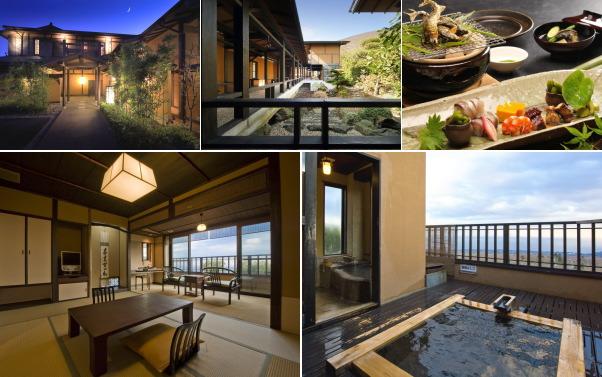 静岡県・伊豆高原温泉 お宿うち山(露天風呂付き客室)