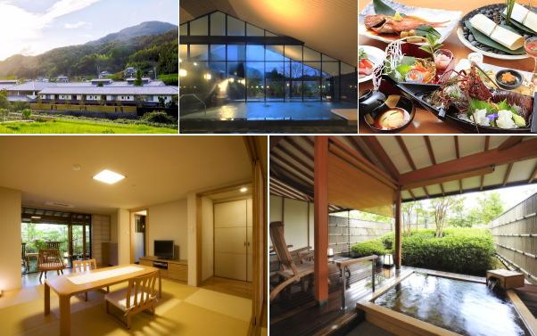 下田相玉温泉 里山の別邸 下田セントラルホテル(露天風呂付き客室)