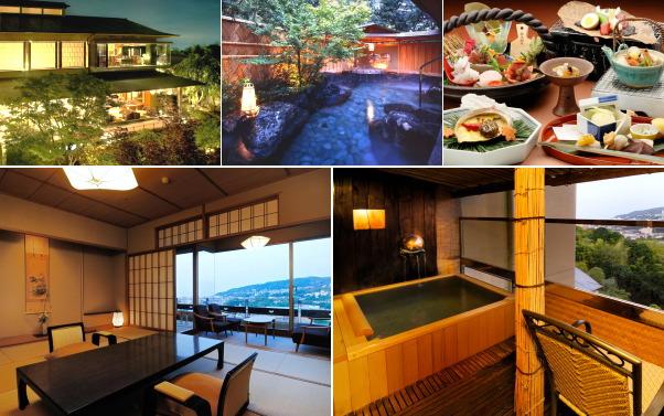 静岡県・伊東温泉 青山やまと(露天風呂付き客室)