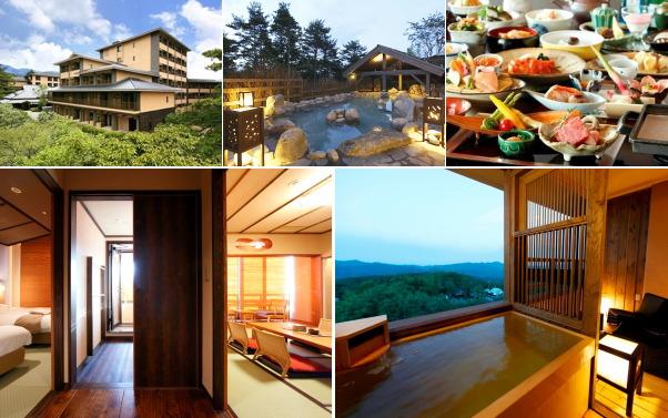 草津温泉 湯宿 季の庭(露天風呂付き客室)