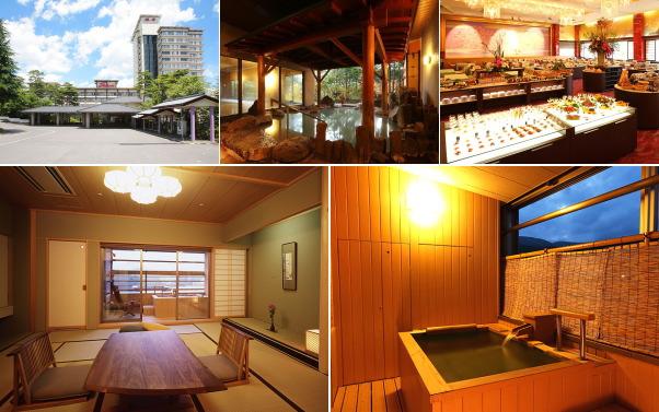 草津温泉 ホテル櫻井(露天風呂付き客室)