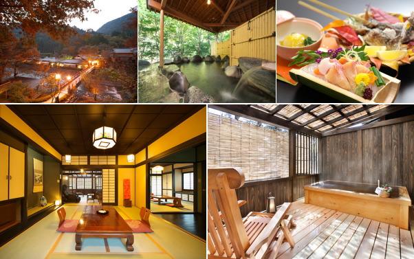 真木温泉旅館(露天風呂付き客室)