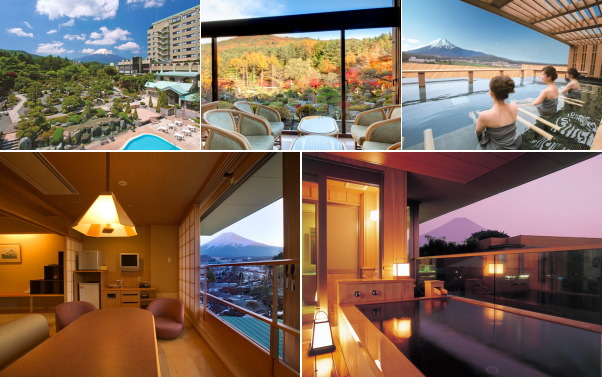 富士山温泉 ホテル鐘山苑(露天風呂付き客室)