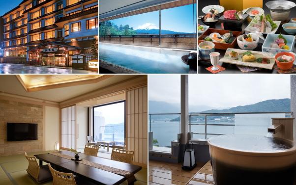 富士河口湖温泉郷 湖南荘(露天風呂付き客室)
