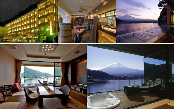 富士河口湖温泉郷 風のテラスKUKUNA(露天風呂付き客室)