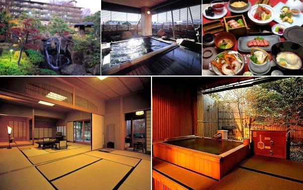 甲府湯村温泉 常磐ホテル(露天風呂付き客室)
