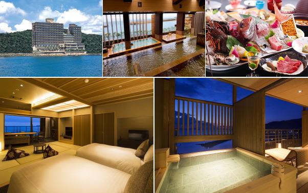 洲本温泉 ホテルニューアワジ(露天風呂付き客室)