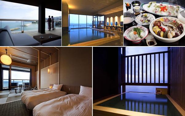洲本温泉 渚の荘 花季(露天風呂付き客室)
