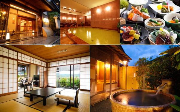 嵐山温泉 渡月亭(露天風呂付き客室)